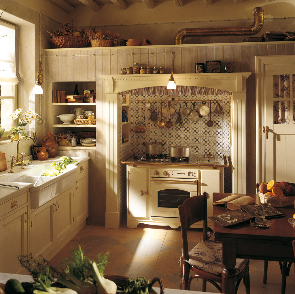 Cuisine Champêtre Moderne: Intriguing Country Kitchen Design Ideas For Your Amazing