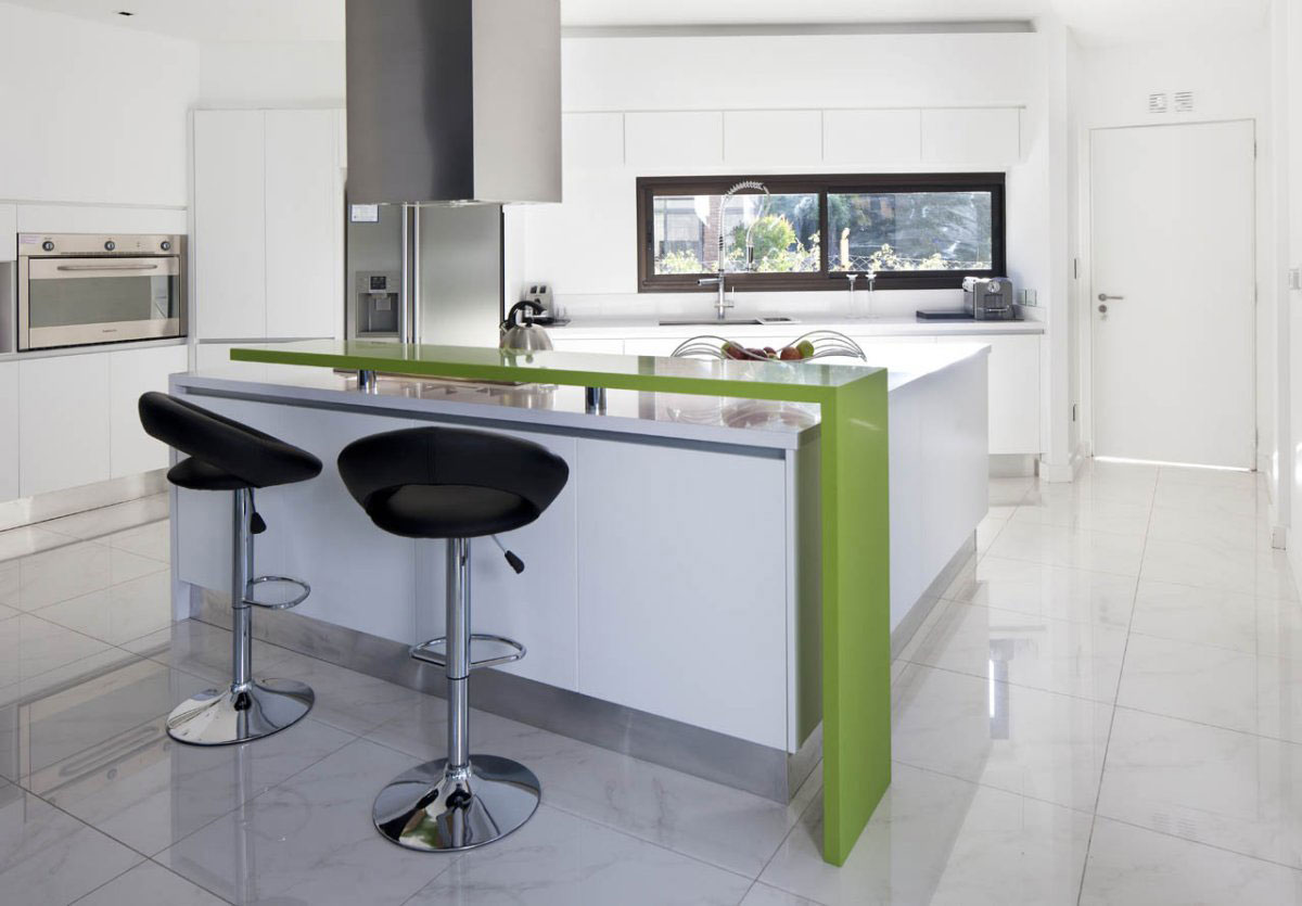 Brilliant small modern kitchen design ideas ideas 4 homes Modern green kitchen ideas