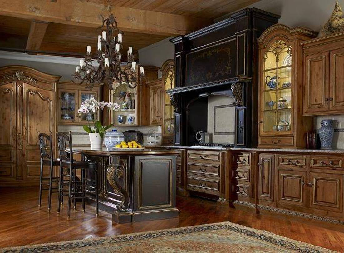 Alluring tuscan kitchen design ideas with a warm for Old world home decor
