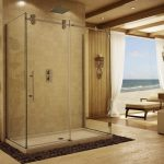 Appealing Picture Large Glass Alumax Shower Doors Design Ideas  close Nice Wall Color